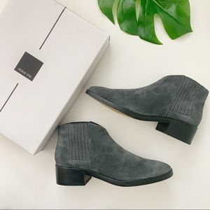Dolce Vita Towne Ankle Boot Gray Leather